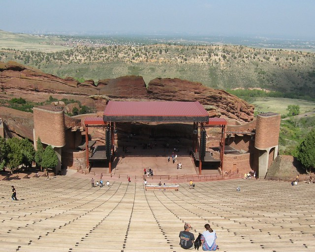 Amphitheater at Red Rocks