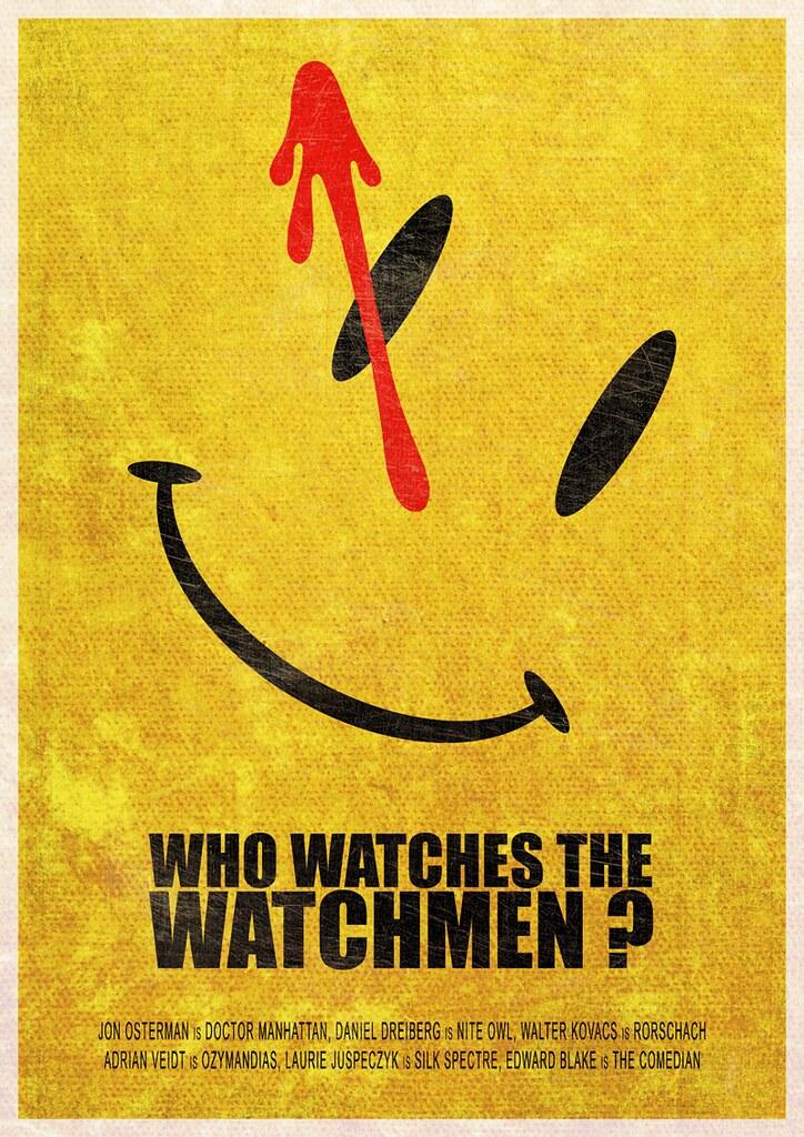 cbdbb9b82 Who watches the Watchmen ? | A Watchmen minimalist poster | Flickr