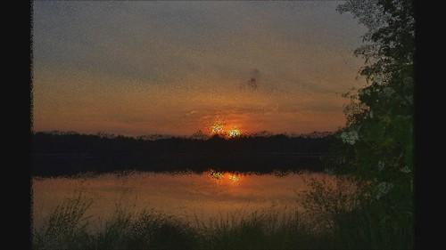 sunset poconos summitlake monroecountypa