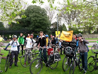 Party on Parliament, with Critical Mass Edinburgh