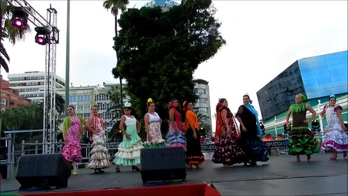 VII Feria Abril Pasarela Andaluza Escuela Baile Ana Manrique video 01