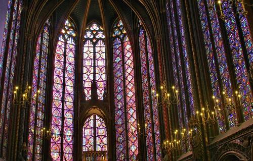 Sainte-Chapelle, Upper Chapel | by Jan Nagalski (off, surgery)