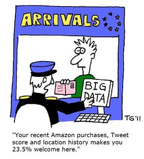 Cartoon: Big Data   by Space & Light