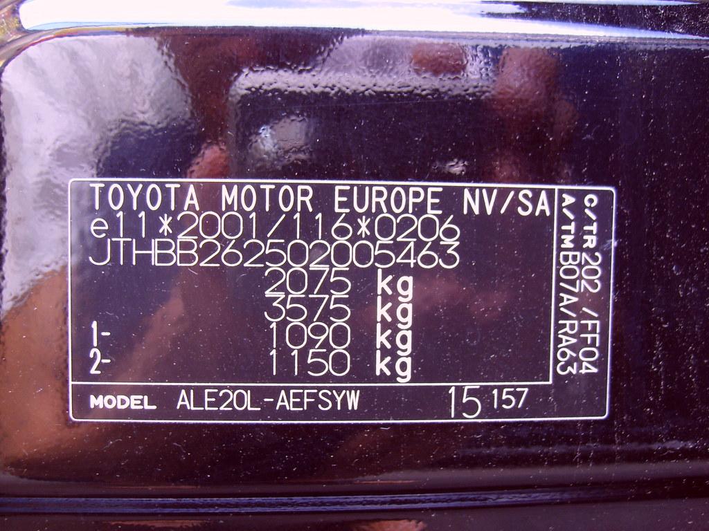Lexus Vin Decoder >> Lexus Is 220d 03 2006 Vin Number Jthbb262502005463 Flickr
