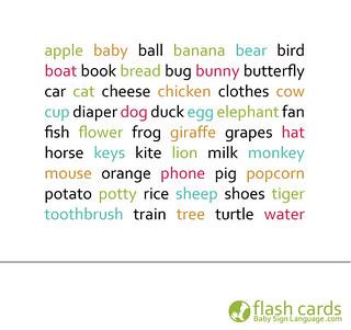 I-Baby Sign Language Flash Cards Box Design 9 | Baby Sign Language