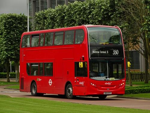 Abellio London Alexander Dennis Enviro400H (2449 - SK14 SYY) 350