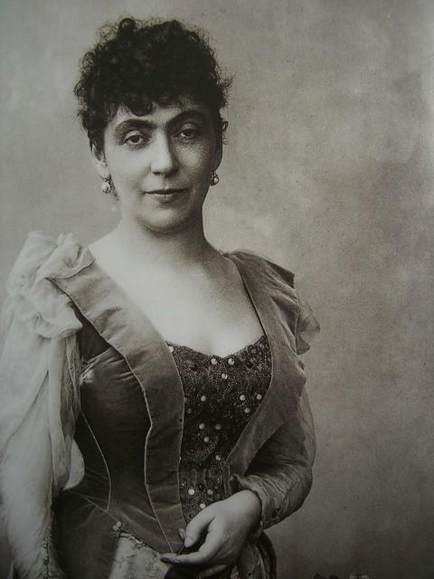 Madeleine Lemaire par Nadar (1891)