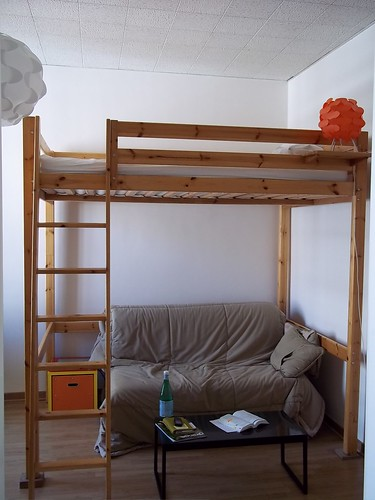 Loft bed and pull out couch