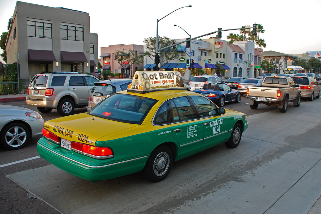 Cab San Diego >> San Diego Taxi Ford Crown Victoria In Hillcrest So Cal