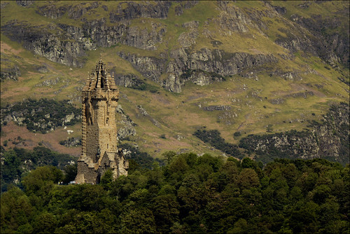 Wallace Monument From Stirling Castle | by dun_deagh