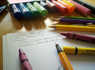 crayons and coding | by tamburix