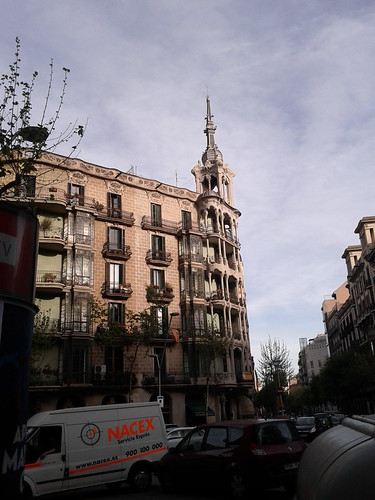 Art Nouveau in Eixample | by sigg3.net