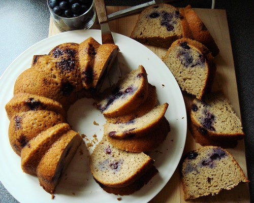 Blueberry Buckwheat Maple Bundt | by ComeUndone