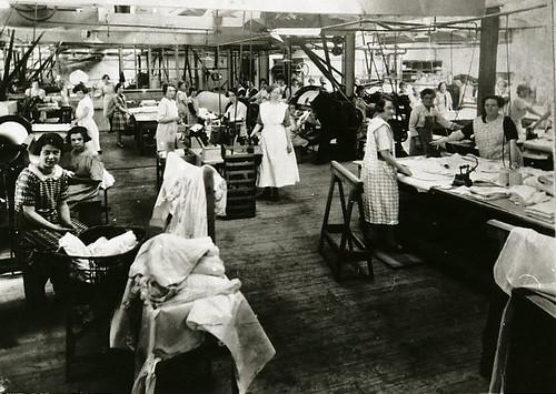 The Grange Laundry, Beech Road, Chorlton, c.1918