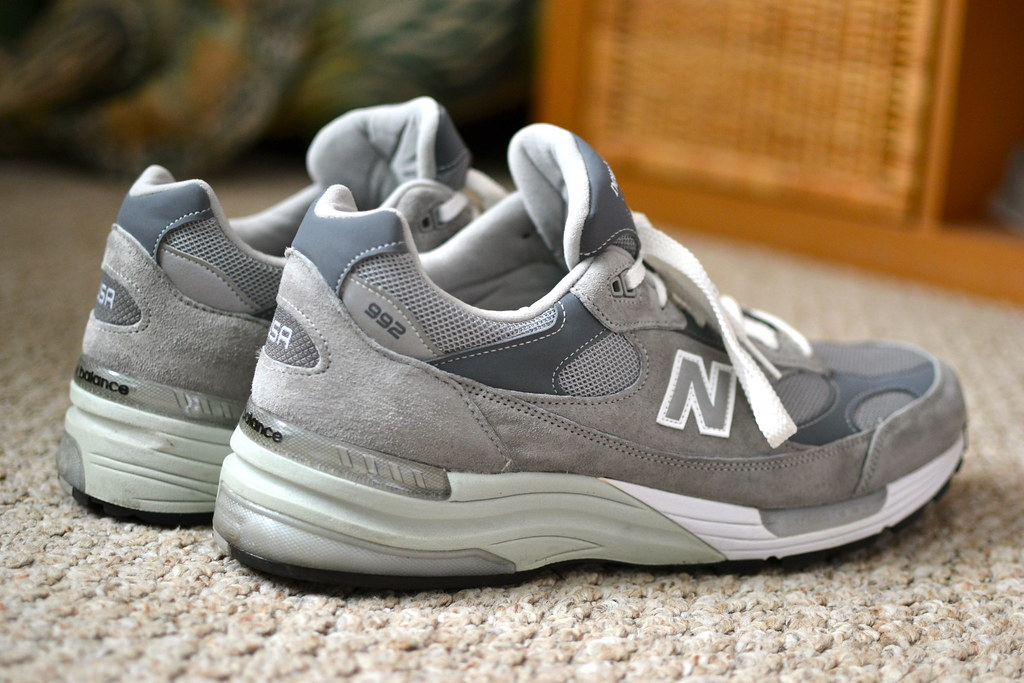 site réputé a7bbf f536a The iShoes - New Balance 992   One of Steve Jobs favorite sn ...