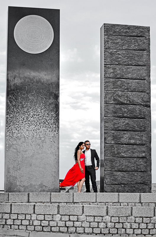 Sneek Preview of another from Raj&Manny's Engagement Shoot