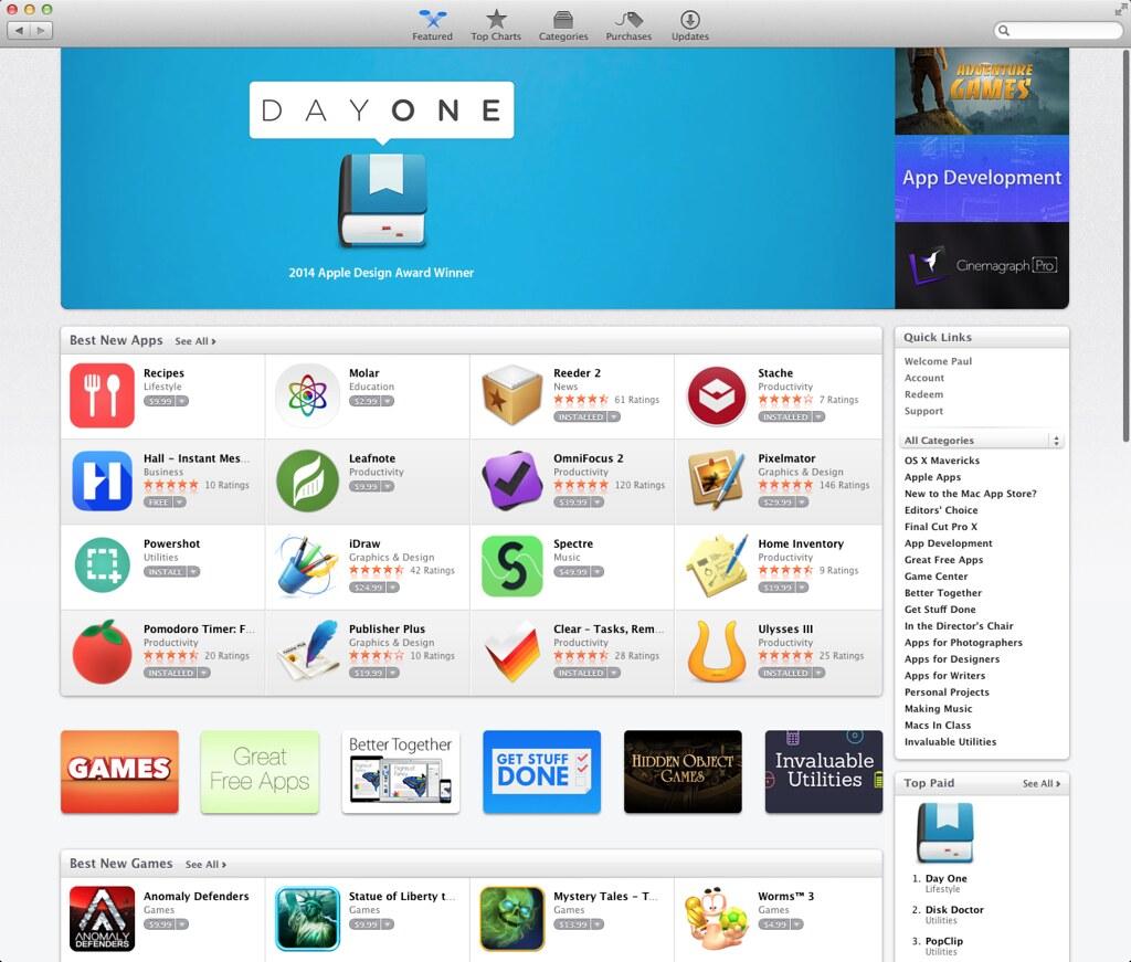 1 On Mac App Store Paul Mayne Flickr