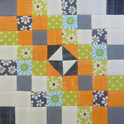 DHWQ Block 1 - Eight Squared | by Quiltjane