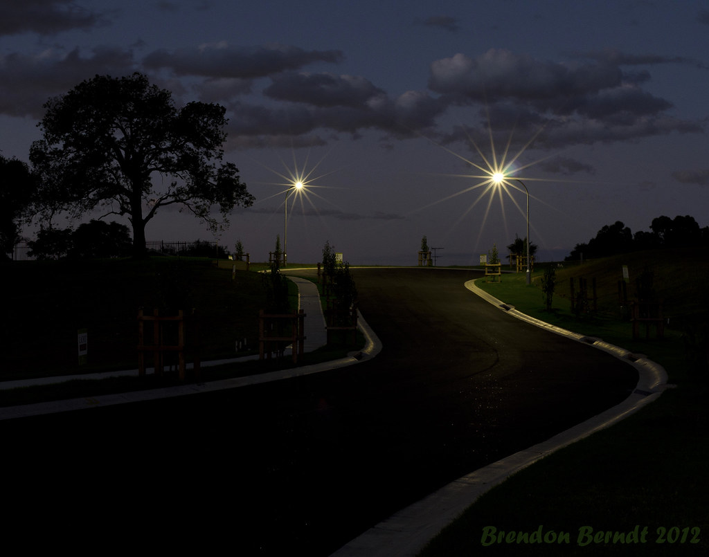 Englorie Park at night
