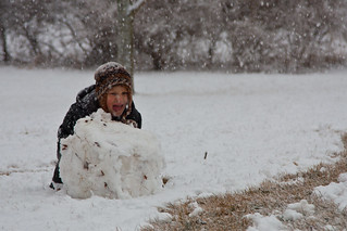 Building Snowmen | by ThreeIfByBike