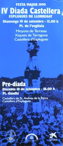 036. Cartell 6a Diada, 1999   by Cargolins