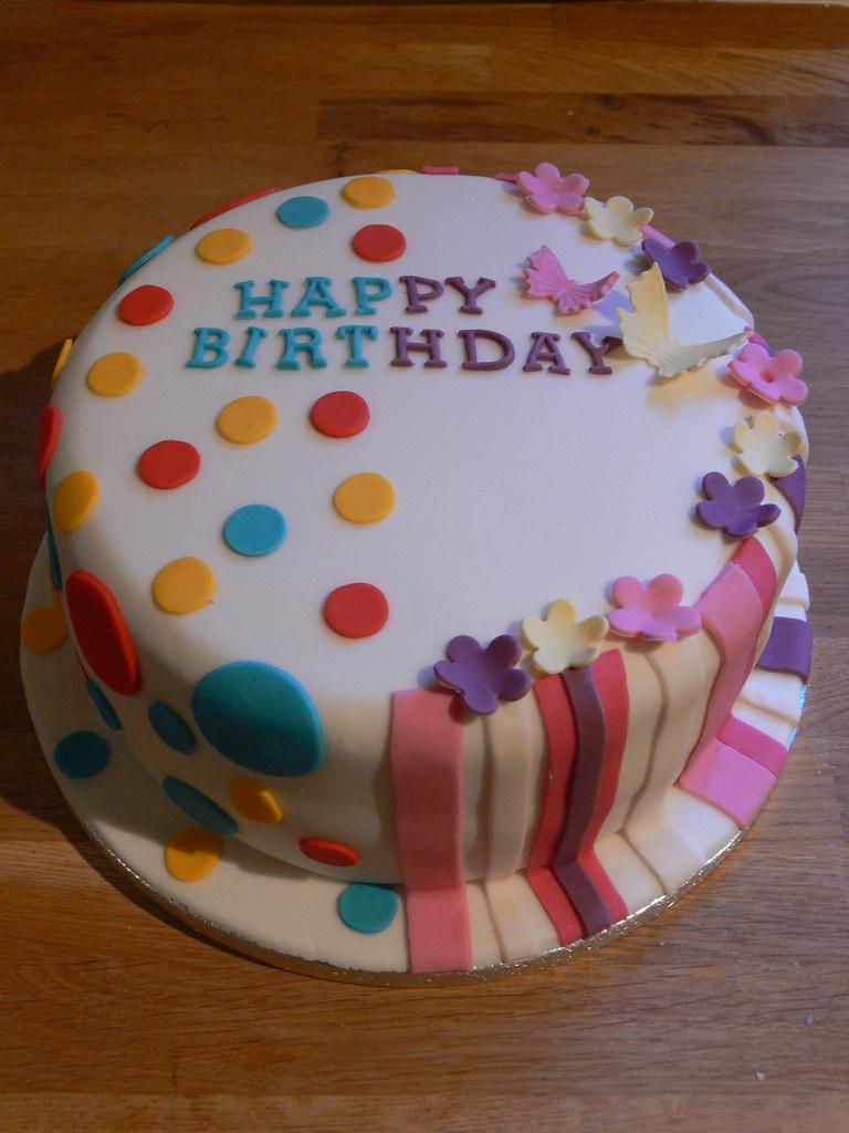 Awe Inspiring Joint Birthday Cake Kimmy Loves Cake Flickr Personalised Birthday Cards Xaembasilily Jamesorg