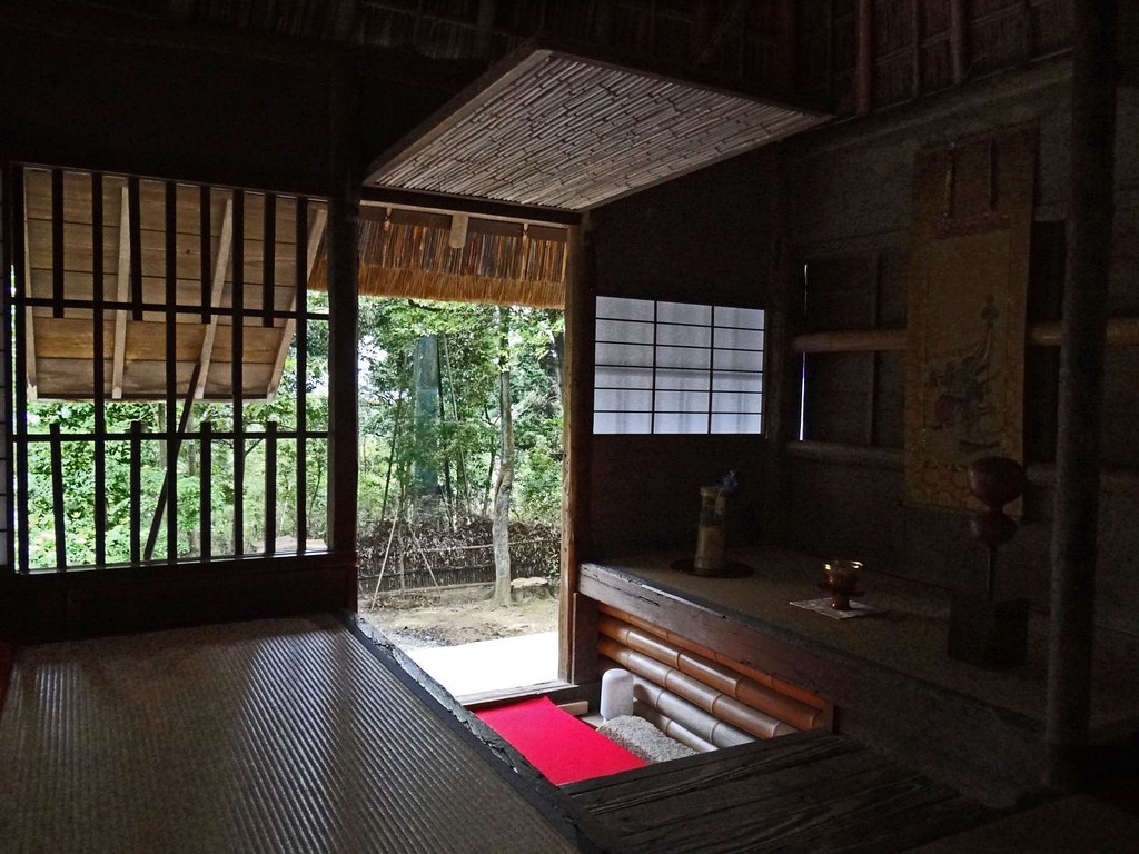 Inside a 400+ Year Old Teahouse | This teahouse, called Kasa