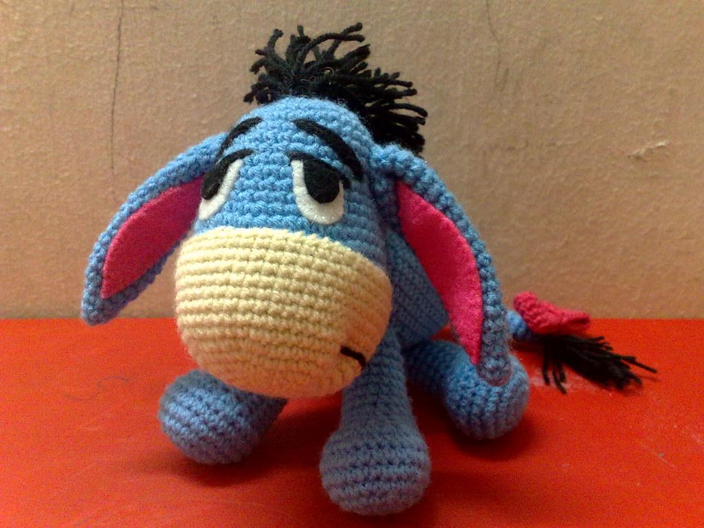 PATTERN: Crochet Eeyore Pattern, Amigurumi Donkey Pattern ... | 768x1024