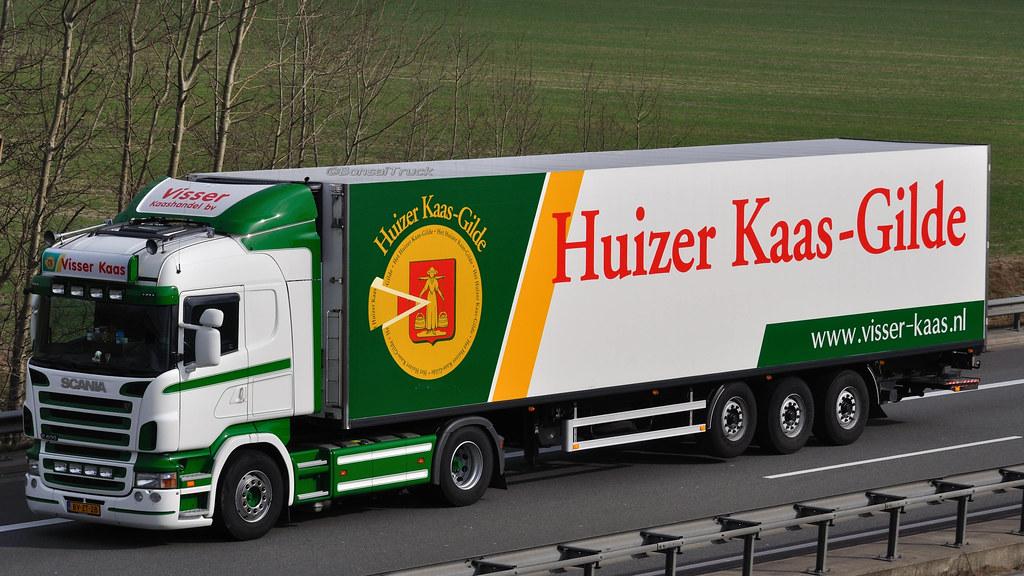 NL - Visser Kaas >Huizer Kaas-Gilde< Scania R 400 HL | Flickr