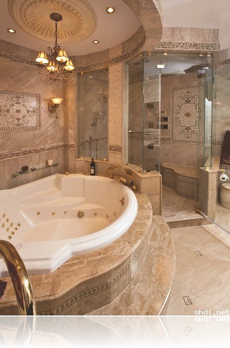luxury bathroom jacuzzi designs ideas  big