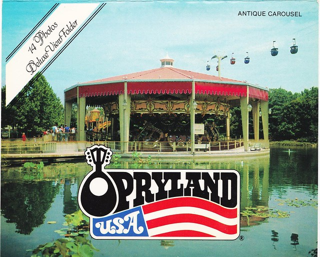 OPRYLAND U.S.A.: Antique Carousel and Sky Ride
