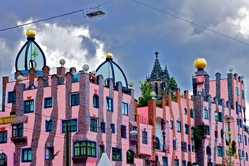pinke Grüne Zitadelle & Dom   by Basileia Gorgo