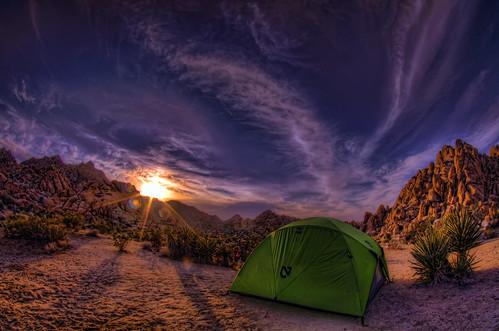 camping sunset pentax joshuatree handheld hdr k7 5xp nemotent