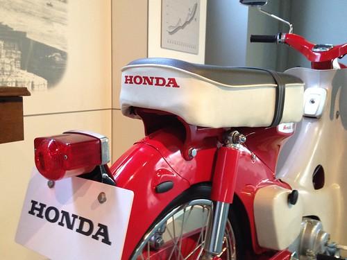 Honda Super Cub Model CA100, 1962 | by kemeko1971