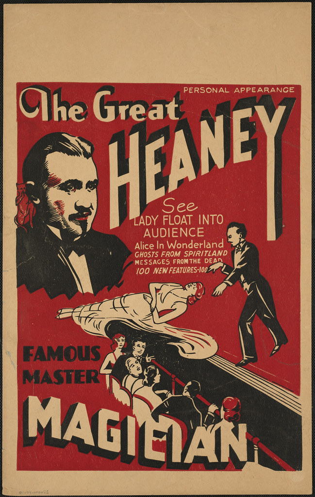The Great Heaney : Famous master magician