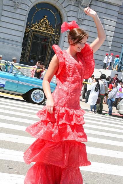 Red Bubble Wrap Dress