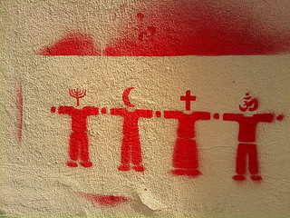 Religion Stencil (Edited) | by mwfearnley