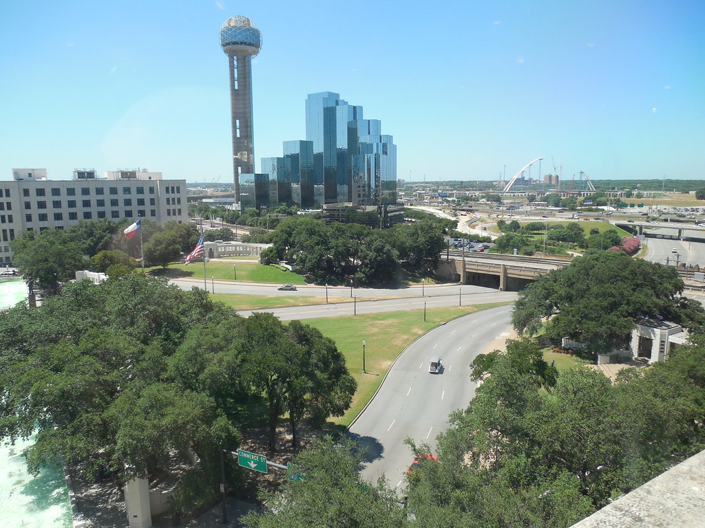 View From The 6th Floor Window Dallas Texas The Car Is At Flickr