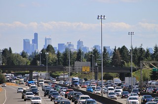 I-5 looking south from NE 92nd Street | by SounderBruce
