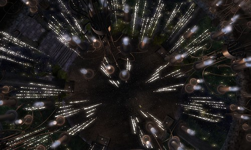CAN YOU SEE US BELOW THIS LOOKS LIKE A WARP SPEED EFFECT | by ▓▒░ TORLEY ░▒▓