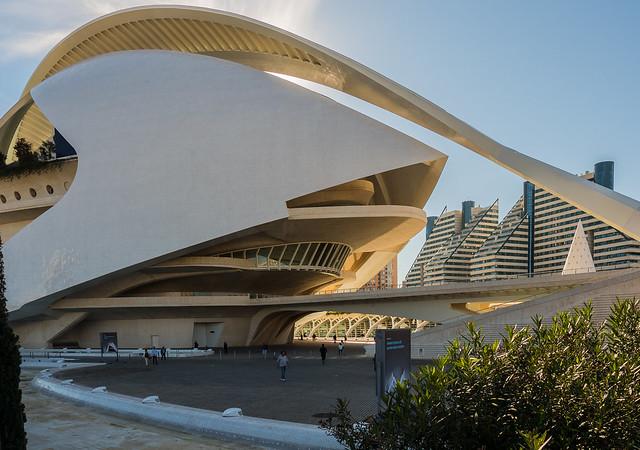 Valencia Arts & Science Area ( The Opera House) El Palau de les Arts Reina Sofia (Olympus OM-D EM5II & mZuiko 12-100mm f4 Travel -Zoom (1 of 1)