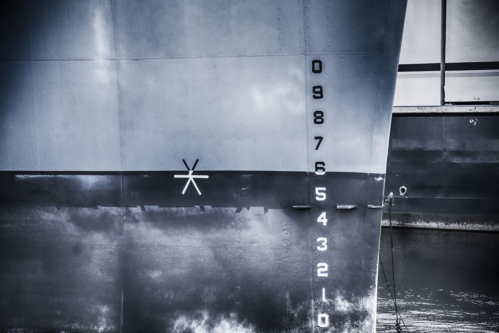 Bow--USS Salem