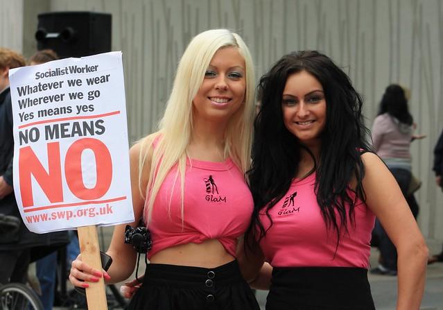 Edinburgh: Slutwalk 2011 [ No Means No]