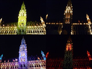 Grand Place Lights for Belgian National Day | by JMParrone