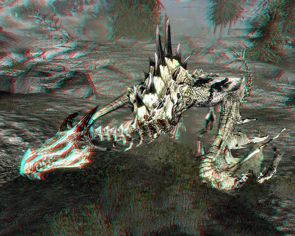 Skyrim Imagery - Monster Mod Cursed Skeletal Dragon 3D (An…   Flickr