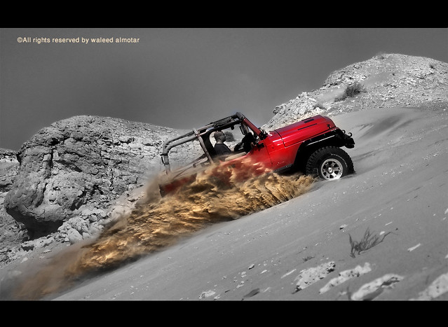 Red Wrangler (full of action)