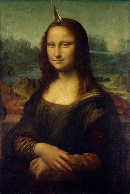 The Horned Mona Lisa