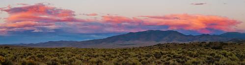 sunset panorama desert nevada dayton carsoncity