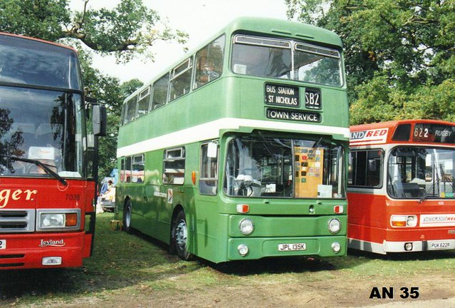 AN 35, JPL 135K, Leyland Atlantean, Park Royal Body H72D, 1972 (t.1992)