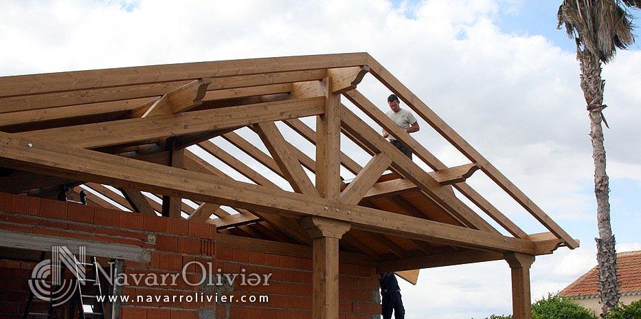 Techo Para Casa De Obra En Construccion Olivier Navarro Flickr